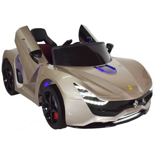 Ηλεκτροκίνητο Παιδικό Αυτοκίνητο Τύπου Ferrari 12V  Χρυσό HZ7587 Ηλεκτροκίνητα αυτοκίνητα