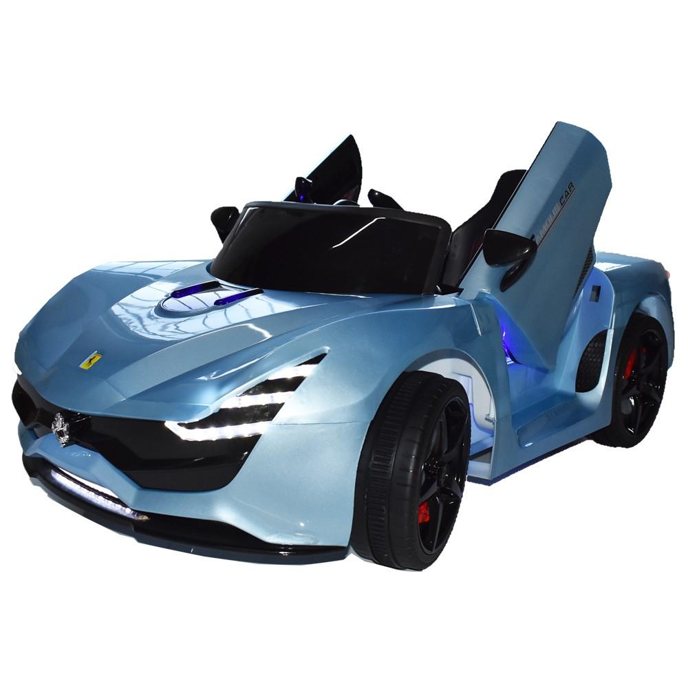 Ηλεκτροκίνητο Παιδικό Αυτοκίνητο Τύπου Ferrari 12V  Μπλε HZ7587
