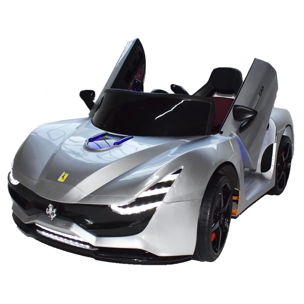 Ηλεκτροκίνητο Παιδικό Αυτοκίνητο Τύπου Ferrari 12V  Ασημί HZ7587