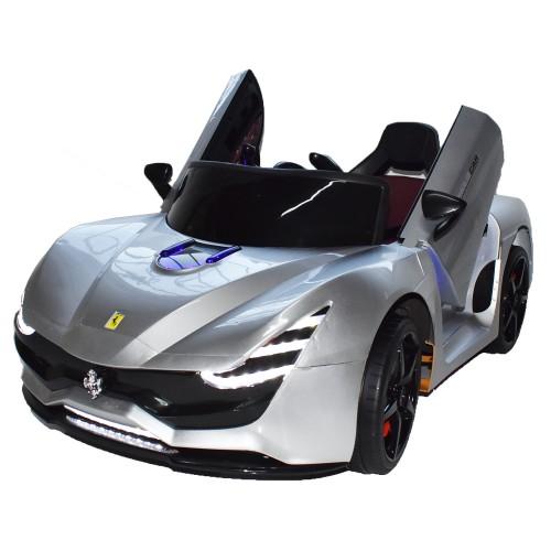Ηλεκτροκίνητο Παιδικό Αυτοκίνητο Τύπου Ferrari 12V  Ασημί HZ7587 Ηλεκτροκίνητα αυτοκίνητα