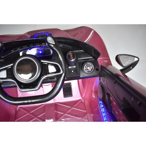 Ηλεκτροκίνητο Παιδικό Αυτοκίνητο Τύπου Ferrari 12V  Ροζ HZ7587 Ηλεκτροκίνητα αυτοκίνητα