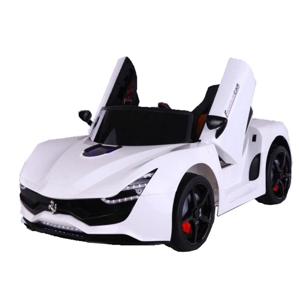 Ηλεκτροκίνητο Παιδικό Αυτοκίνητο Τύπου Ferrari 12V  Λευκό HZ7587