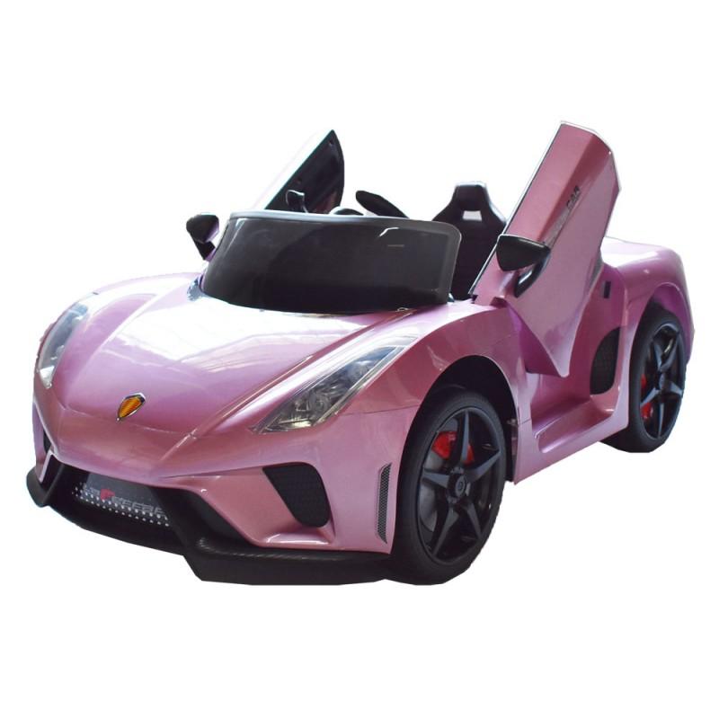 Τύπου Ferrari 12V Ηλεκτροκίνητο Παιδικό Αυτοκίνητο Ροζ HZ7588 Ηλεκτροκίνητα αυτοκίνητα