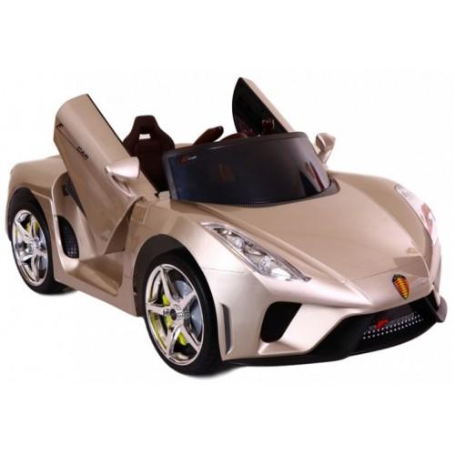 Τύπου Ferrari 12V Ηλεκτροκίνητο Παιδικό Αυτοκίνητο Χρυσό HZ7588 Ηλεκτροκίνητα αυτοκίνητα