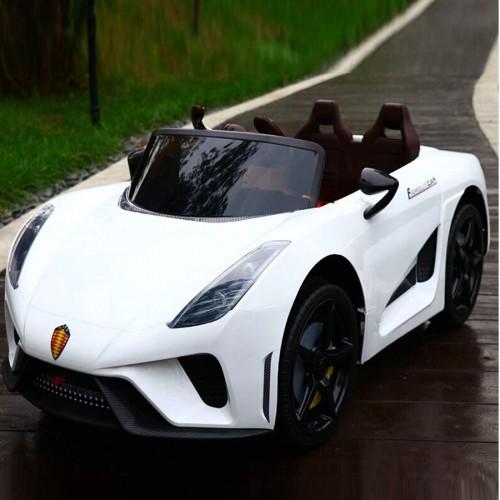 Τύπου Ferrari 12V Ηλεκτροκίνητο Παιδικό Αυτοκίνητο Λευκό HZ7588 Ηλεκτροκίνητα αυτοκίνητα