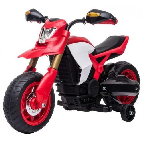 Ηλεκτροκίνητη Παιδική Μηχανή 6V σε Κόκκινο Χρώμα 16454