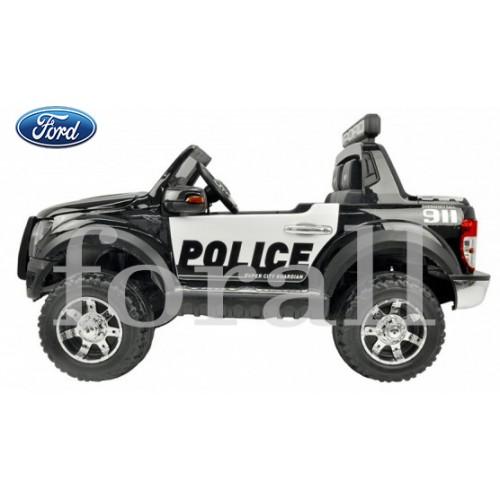 Ηλεκτροκίνητο Παιδικό Αυτοκίνητο Ford Ranger Raptor Police Licensed Μαύρο 12V 301026 Ηλεκτροκίνητα αυτοκίνητα