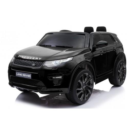 Ηλεκτροκίνητο Παιδικό Αυτοκίνητο Licensed Land Rover Discovery 12V Με Δερμάτινο Κάθισμα και Ελαστικά Τύπου Αυτοκινήτου Μαύρο 5269017 Ηλεκτροκίνητα αυτοκίνητα