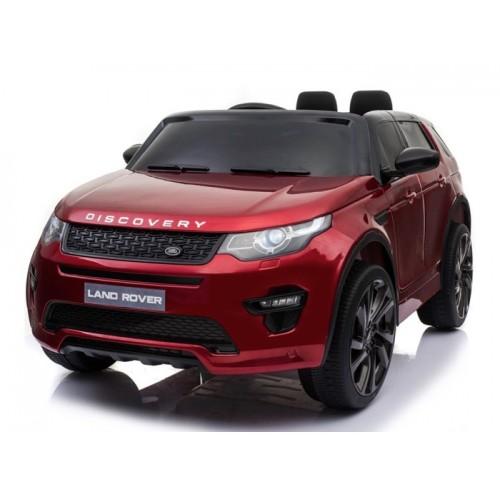 Ηλεκτροκίνητο Παιδικό Αυτοκίνητο Licensed Land Rover Discovery 12V Με Δερμάτινο Κάθισμα και Ελαστικά Τύπου Αυτοκινήτου Κόκκινο 5269017 Ηλεκτροκίνητα αυτοκίνητα