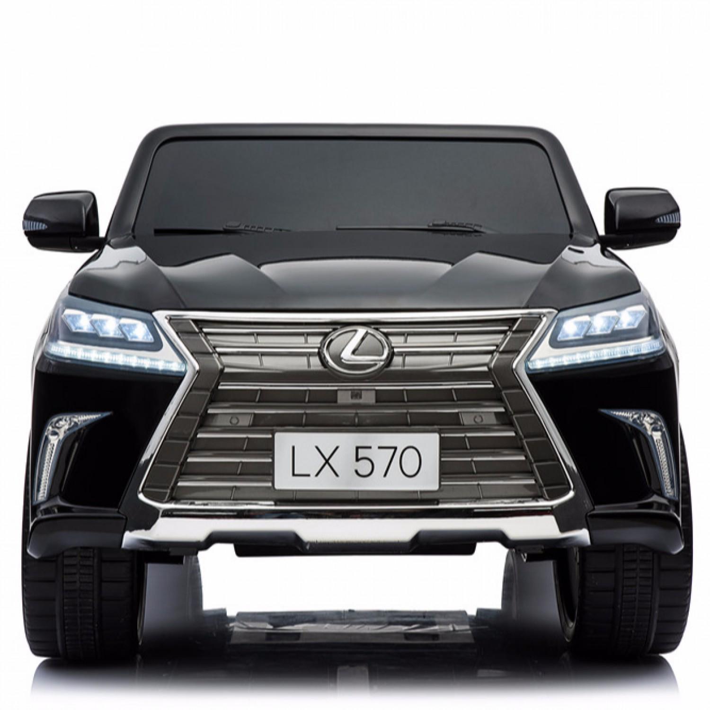 Lexus License Lx570 Electric Ride On Cars For Kids 24v Black