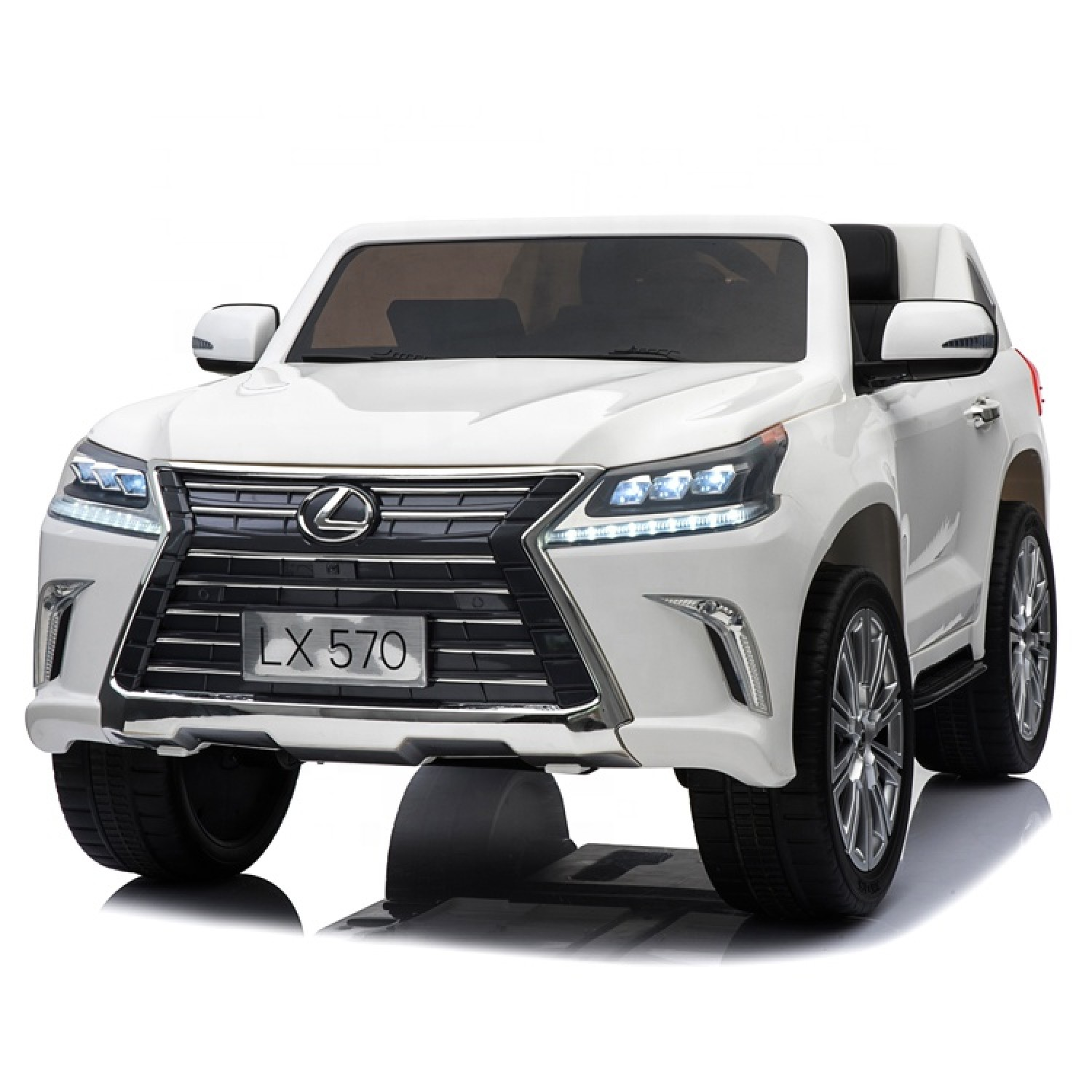 Lexus License Lx570 Electric Ride On Cars For Kids 24v