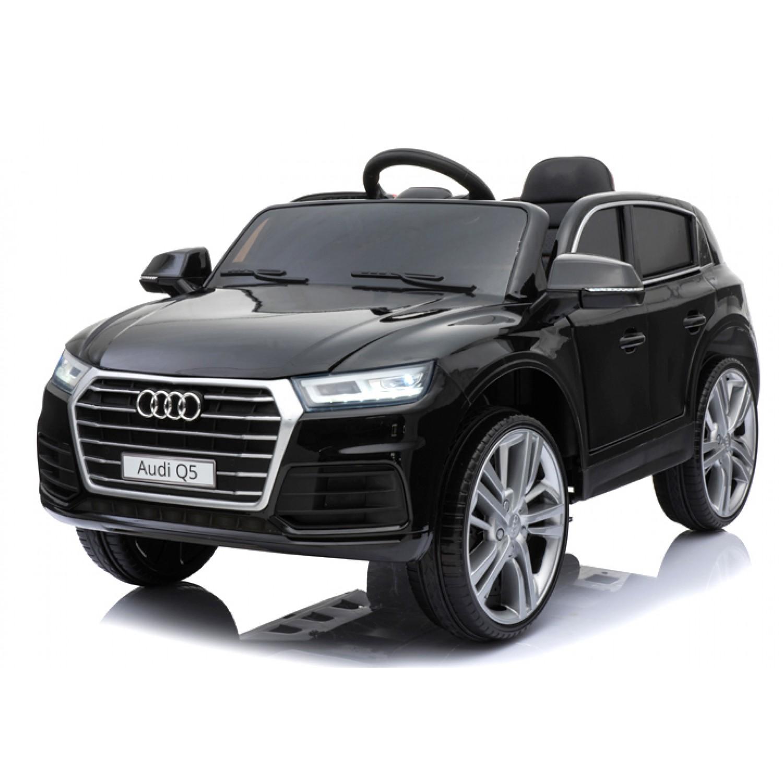 Audi Q5 License Electric Ride On Cars For Kids 12v Blakc Bjh108