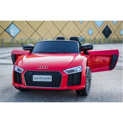 Ηλεκτροκίνητο Αυτοκίνητο Audi R8 Spyder κόκκινο 12V R8 Ηλεκτροκίνητα αυτοκίνητα
