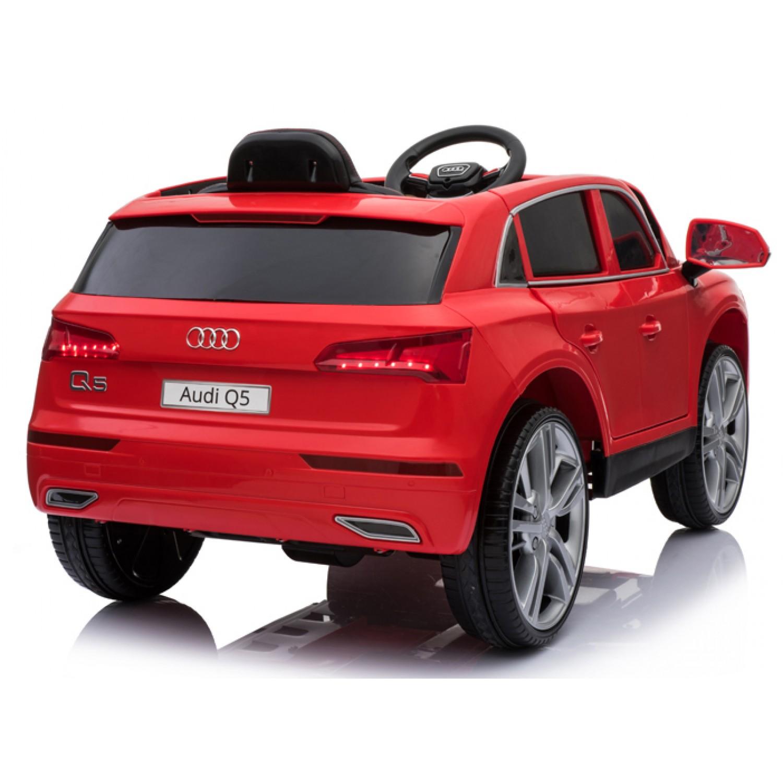 Cars For Kids >> Audi Q5 License Electric Ride On Cars For Kids 12v Red Bjh108
