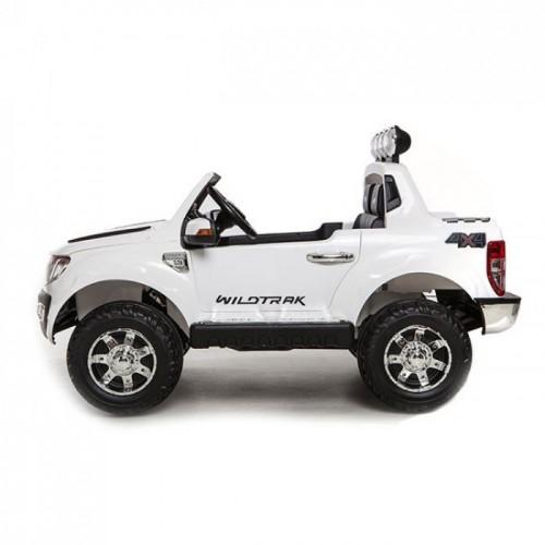 Ηλεκτροκίνητο Παιδικό Αυτοκίνητο Ford Ranger Original License 12V και R/C Λευκό dk-f150 Ηλεκτροκίνητα αυτοκίνητα