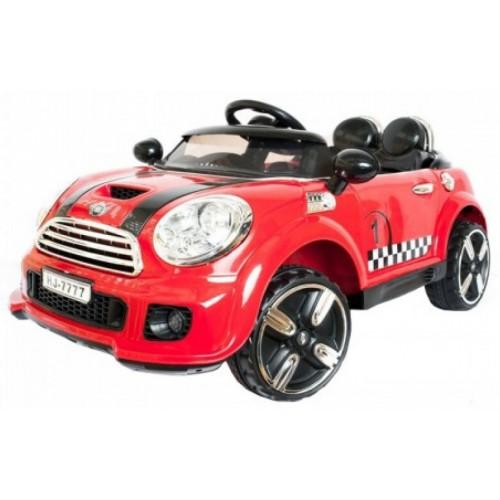 Ηλεκτροκίνητο Αυτοκίνητο τύπου Mini Cooper Style 12V με R-C Κόκκινο 9999 Ηλεκτροκίνητα αυτοκίνητα