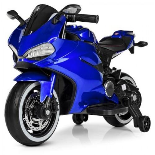 Ηλεκτροκίνητη μηχανή Τύπου Ducati 1628PERFECT 6V σε Μπλε Forall 3930026A ΠΑΙΧΝΙΔΙΑ