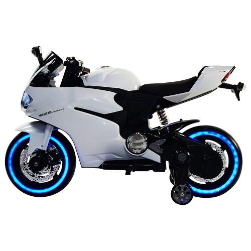 Ηλεκτροκίνητη μηχανή Τύπου Ducati 1628PERFECT 6V σε Λευκό Forall 3930026A