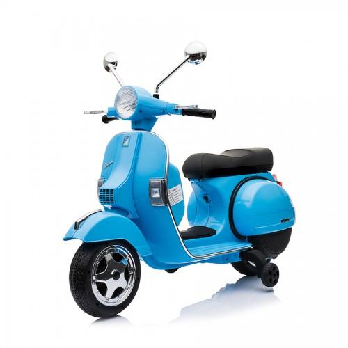 Ηλεκτροκίνητη Παιδική Vespa Licensed Piaggio Vintage 12V Μπλε PX150 ΠΑΙΧΝΙΔΙΑ
