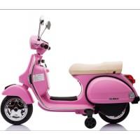 Ηλεκτροκίνητη Παιδική Vespa Licensed Piaggio Vintage 12V Ροζ