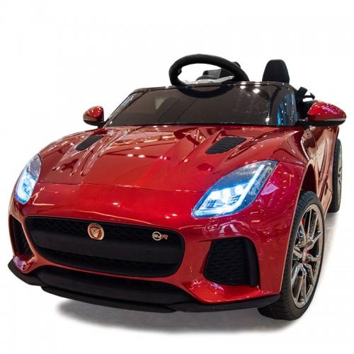 Jaguar Red 12V Ηλεκτροκίνητο Αυτοκίνητο licensed Q5388 Ηλεκτροκίνητα αυτοκίνητα