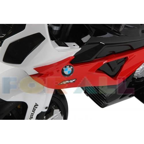 Ηλεκτροκίνητη Μηχανή BMW RR Licensed original 12V Λευκό - Κόκκινο 528568 ΠΑΙΧΝΙΔΙΑ