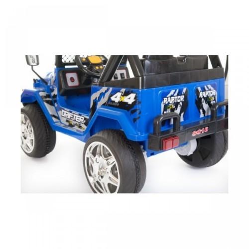 Ηλεκτροκίνητο Παιδικό Αυτοκίνητο Διθέσιο- Jeep τύπου Wrangler 12V Μπλε BJ618 Ηλεκτροκίνητα αυτοκίνητα