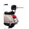 Εκθεσιακή Ηλεκτροκίνητη παιδική Vespa Licensed PX150 6V σε μπεζ 13008