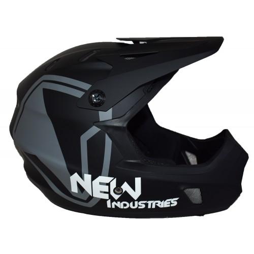 Full Face Κράνος ποδηλάτου BMX Freeride - Downhill ΜΟΟΝ KS05 matt Black  Ποδήλατα