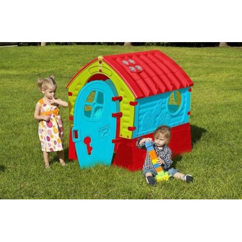 Παιδικό Σπιτάκι MAAYAN House Γαλάζιο- Κόκκινο - Πράσινο 342680 ΠΑΙΧΝΙΔΙΑ