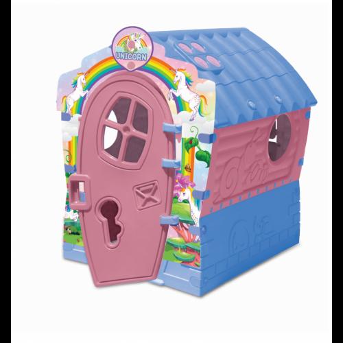 Παιδικό Σπιτάκι Unicorn House Γαλάζιο- Ροζ 531680 ΠΑΙΧΝΙΔΙΑ