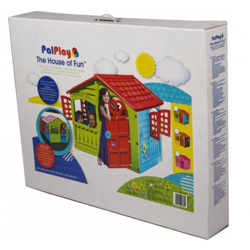 Παιδικό Σπιτάκι MAAYAN House Γαλάζιο- Κόκκινο - Πράσινο 890780 ΠΑΙΧΝΙΔΙΑ
