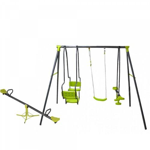 Σετ Κούνια Multiplay και τραμπάλα παιδική χαρά 5298-80 ΠΑΙΧΝΙΔΙΑ ΕΞΩΤΕΡΙΚΟΥ ΧΩΡΟΥ