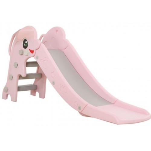Παιδική Τσουλήθρα Πλαστική Δελφίνι ροζ 10LHT01 ΠΑΙΧΝΙΔΙΑ