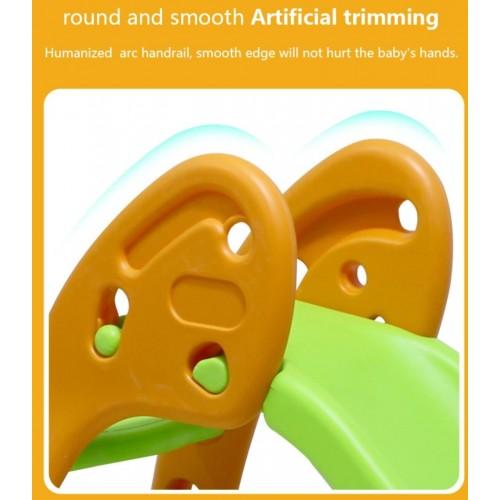 Παιδική Τσουλήθρα με αναδίπλωση Πορτοκαλι-Σιελ Forall 6537 ΠΑΙΧΝΙΔΙΑ