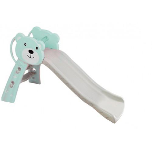 Παιδική Τσουλήθρα Πλαστική Αρκουδάκι τιρκουαζ  9LHT04 ΠΑΙΧΝΙΔΙΑ