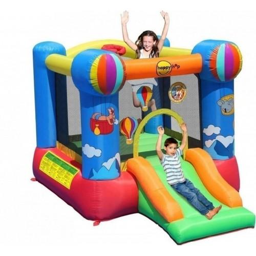 Happy Hop φουσκωτό τραμπολίνο  με τσουλήθρα Hot Air Balloon and Hoop Bouncer 9070N ΠΑΙΧΝΙΔΙΑ