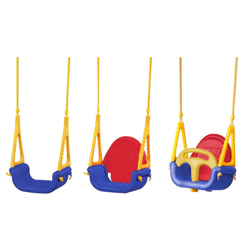 Κούνια παιδική 3 σε 1 εσωτερικού και εξωτερικού χώρου 521527 Παιδικές Χαρές