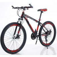 Ποδήλατο Mountain High -Grade 26 ίντσες σε Κόκκινο με Μαύρο