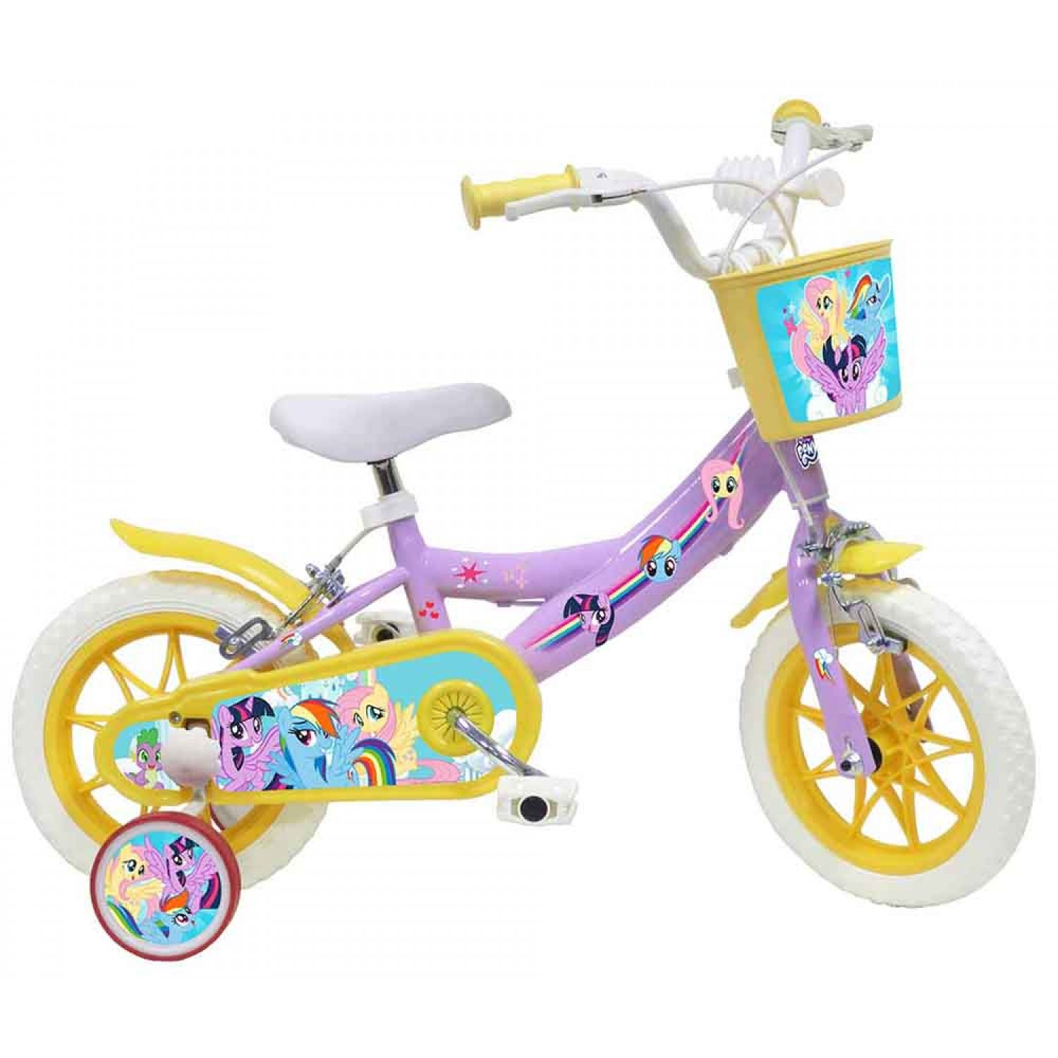 4f56041b8e8 -28 % Bicycle MY LITTLE PONY 12 inches in White-Purple-Yellow color 17284-12