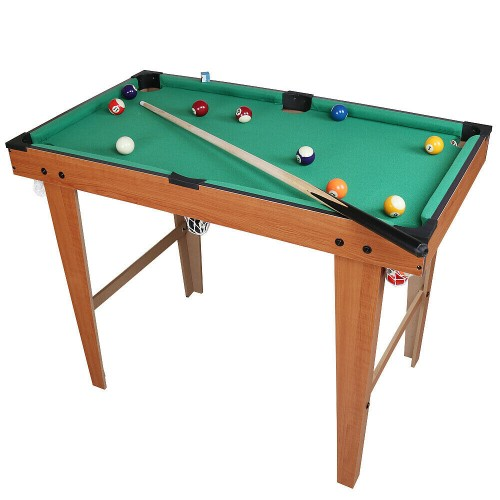 Τραπέζι Μπιλιάρδου 115x51x75cm  Mini Snooker Set 180031C