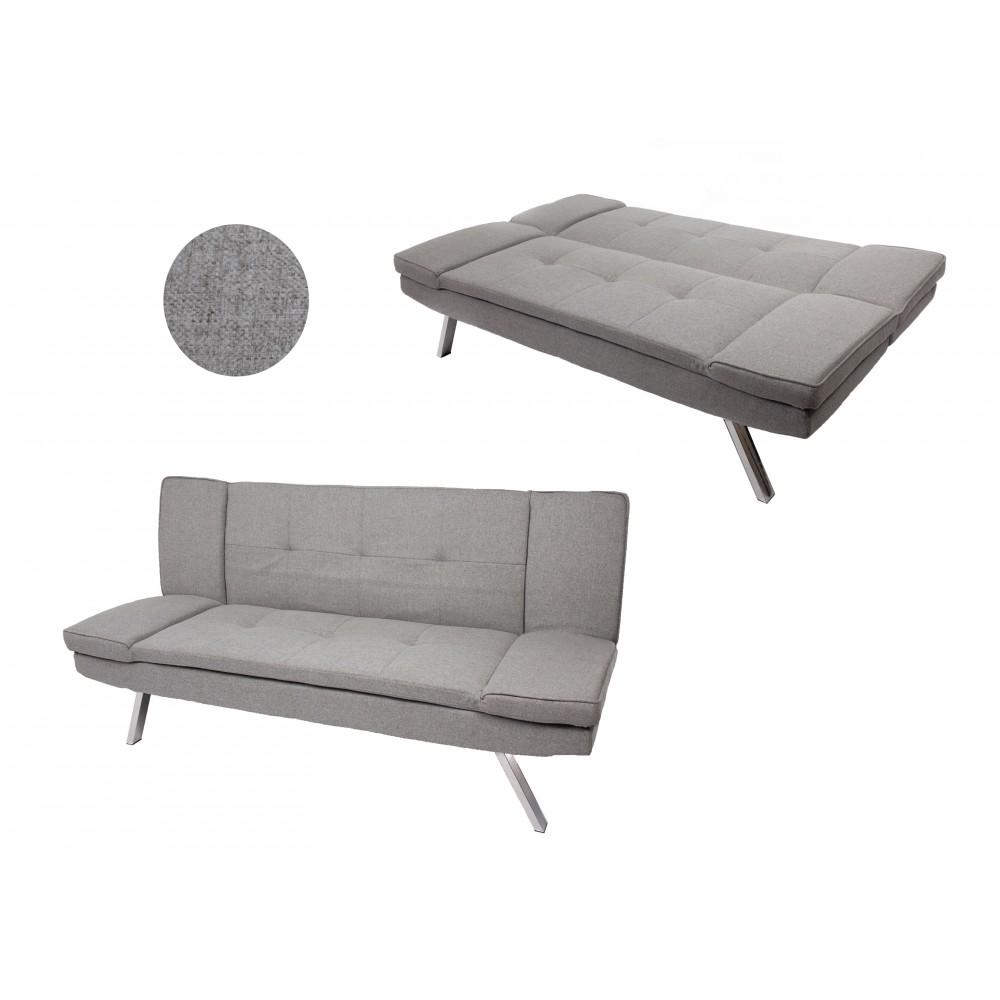 Elief Αναπαυτικός 3 θέσιος Καναπές Κρεβάτι 182x89x86cm