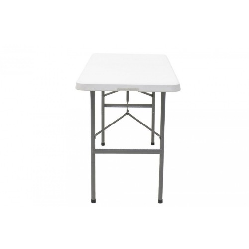 Τραπέζι catering-συνεδρίου πτυσσόμενο (βαλίτσα) Rodeo 122x60cm 142-000004 από ενισχυμένο μεταλλικό σκελετό χρώματος γκρι