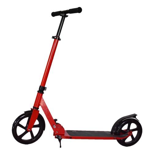 Πατίνι Ενηλίκων Αστικό Πτυσσόμενο Σκούτερ με ιμάντα μεταφοράς Κόκκινο TD204 Forall Ποδήλατα