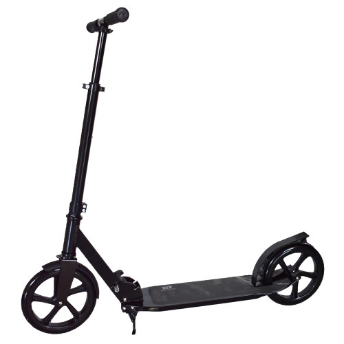 Πατίνι Ενηλίκων Αστικό Πτυσσόμενο Σκούτερ με ιμάντα μεταφοράς Μαύρο TD204 Forall Ποδήλατα