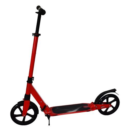 Πατίνι Ενηλίκων Αστικό Πτυσσόμενο Σκούτερ με Διπλή Ανάρτηση και με ιμάντα μεταφοράς Κόκκινο TD230 Forall Ποδήλατα