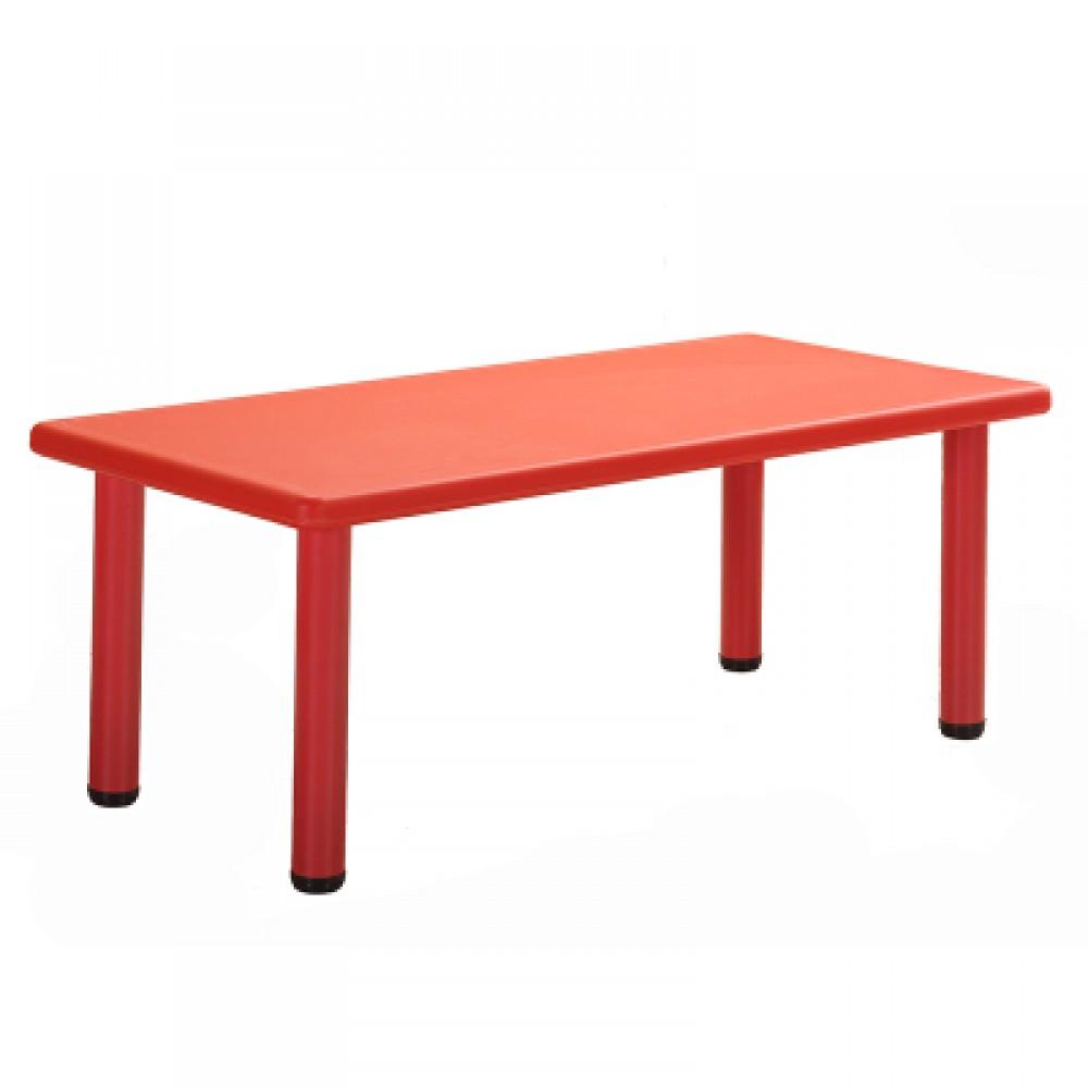 Παιδικό Τραπέζι πλαστικό  σε Κόκκινο χρώμα 0252