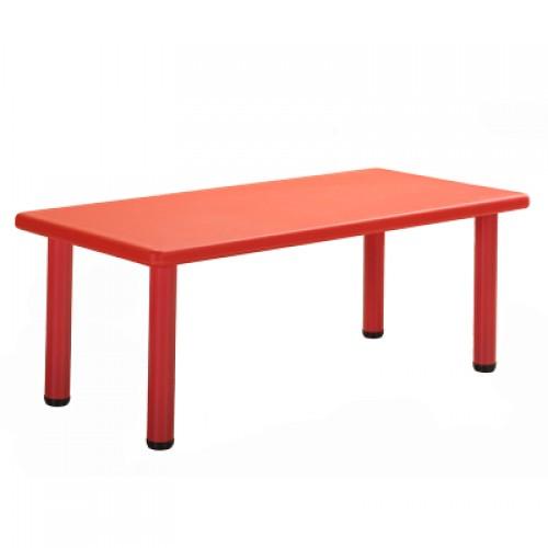 Παιδικό Τραπέζι πλαστικό  σε Κόκκινο χρώμα 0252 ΠΑΙΧΝΙΔΙΑ