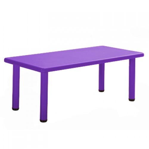 Παιδικό Τραπέζι πλαστικό  σε Μωβ χρώμα 0252 ΠΑΙΧΝΙΔΙΑ