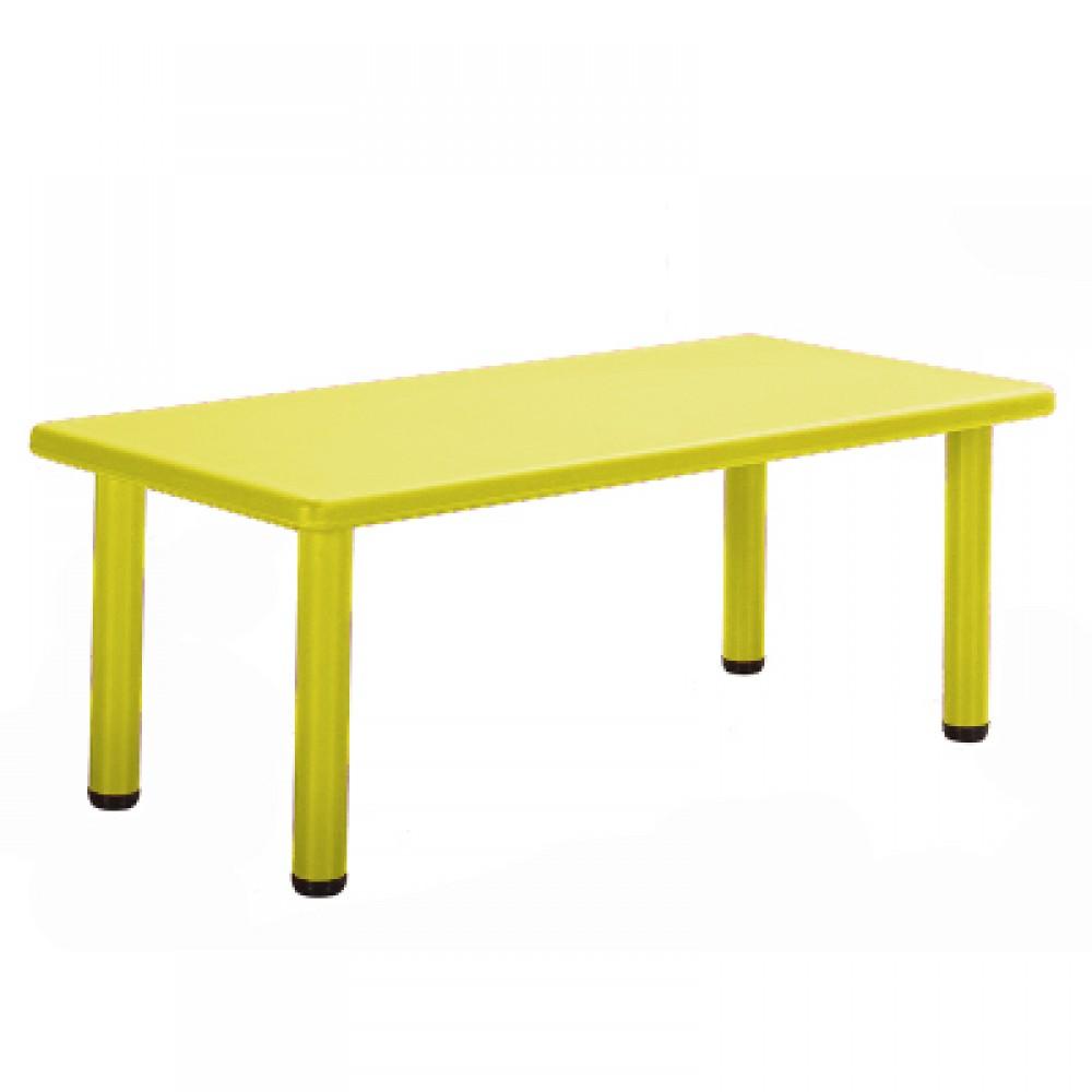 Παιδικό Τραπέζι πλαστικό  σε Κίτρινο χρώμα 0252
